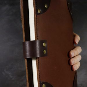 Lost Treasures – A5 Leather Cover & Notebook