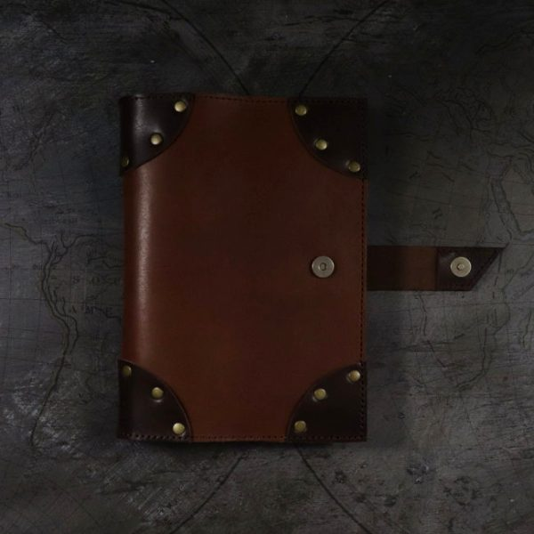 lost treasures leather cover by helen mclean magnet closure