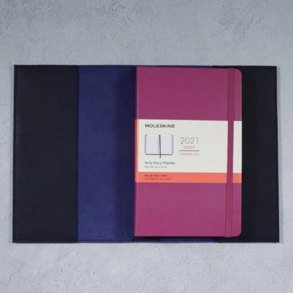 moleskine daily planner leather cover
