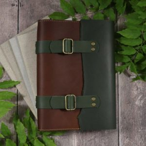 Unexpected Journey – A5 Leather Cover & Notebooks