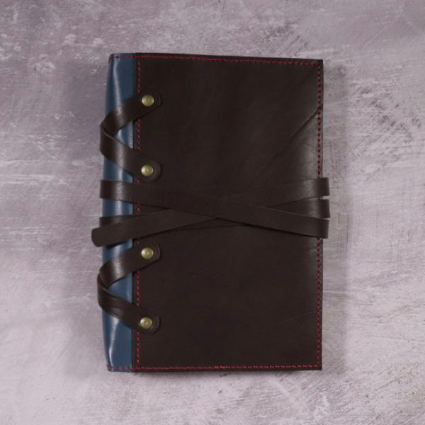 thor leather cover by helen mclean closed