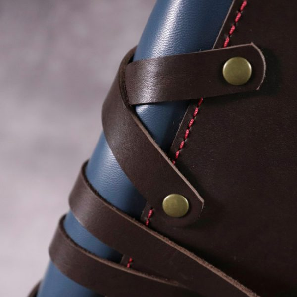 thor leather cover by helen mclean spine details