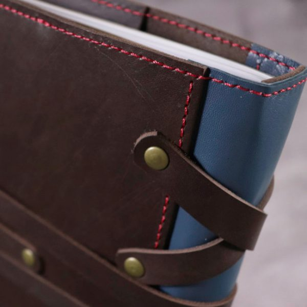 thor leather cover by helen mclean spine details 2