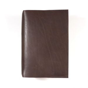 Stillman & Birn Leather Cover – in Dark Mocha