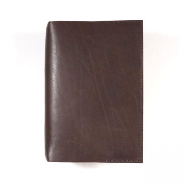 mocha leather stillman and birn hardcover