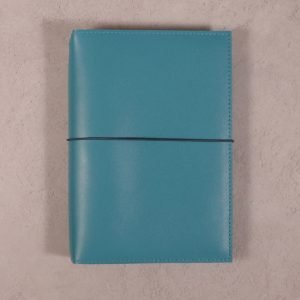 A5 – Teal Blue Leather Cover