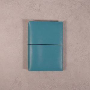 A6 – Teal Blue Leather Cover