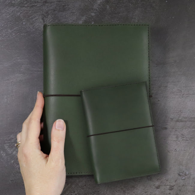 Which size leather notebook should I get?