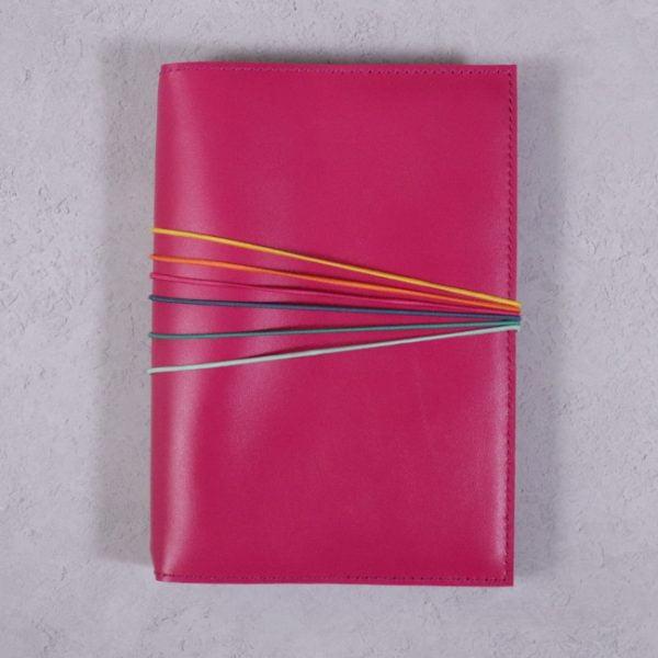 fuchsia pink 6 elastic colour pack 6
