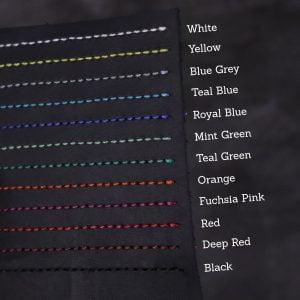 A5 Classic – Elastic Closure in Black Leather Cover