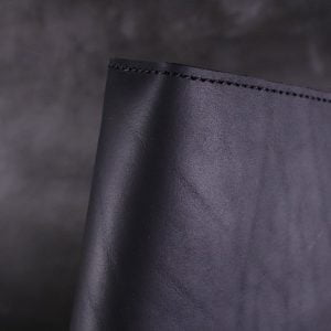 A5 Classic – Black Leather Journal Cover